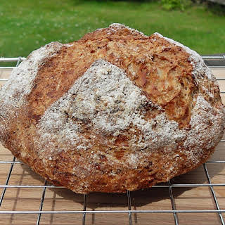 Wholemeal Cheddar and Apple Chutney Soda Bread with Cider.