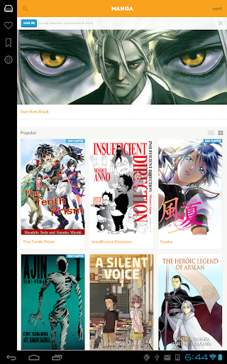 Crunchyroll Manga for Android apk 9