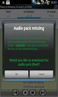 Screenshot of Audio Pack (Abdul Basit)