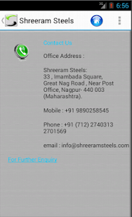 Shreeram Steels- screenshot thumbnail