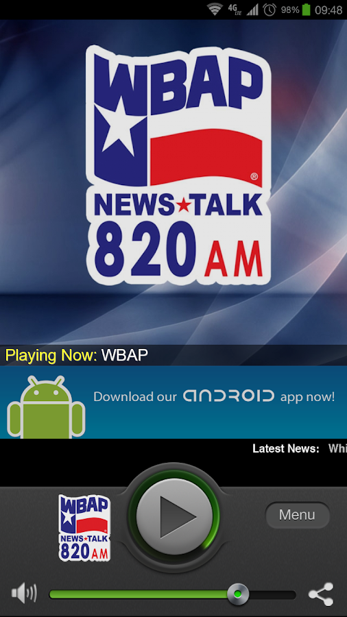 WBAP - screenshot