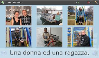 Screenshot of L-Lingo Learn Italian
