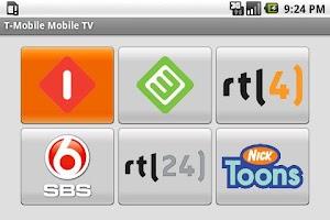 Screenshot of T-Mobile TV