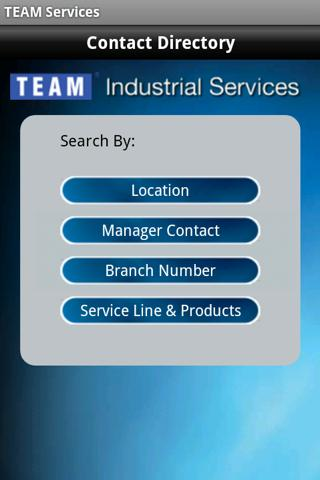 TEAM Services - screenshot