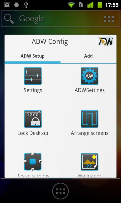 ADW.Launcher - screenshot