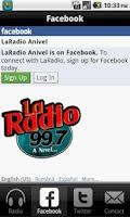 Screenshot of La Radio Fm