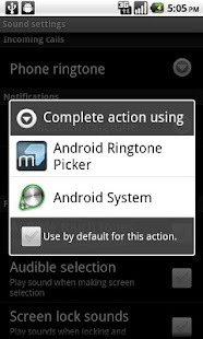 Ringtone Picker - screenshot thumbnail