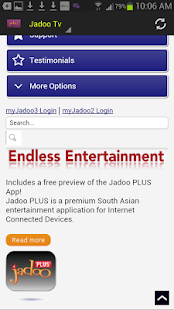 How to add channels to jadoo 4