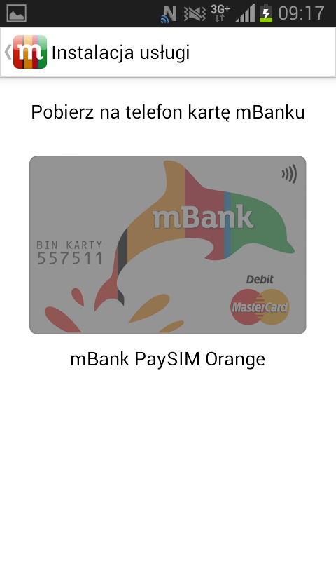 mBank Wallet- screenshot