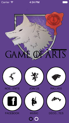 GAME OF ARTS