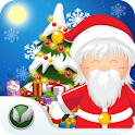 Santa Floating Gifts logo