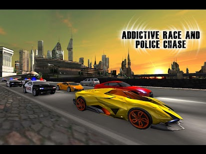 Addictive Race Police Chase