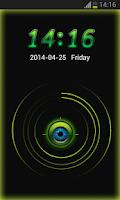Screenshot of Free Lock Scanner Theme