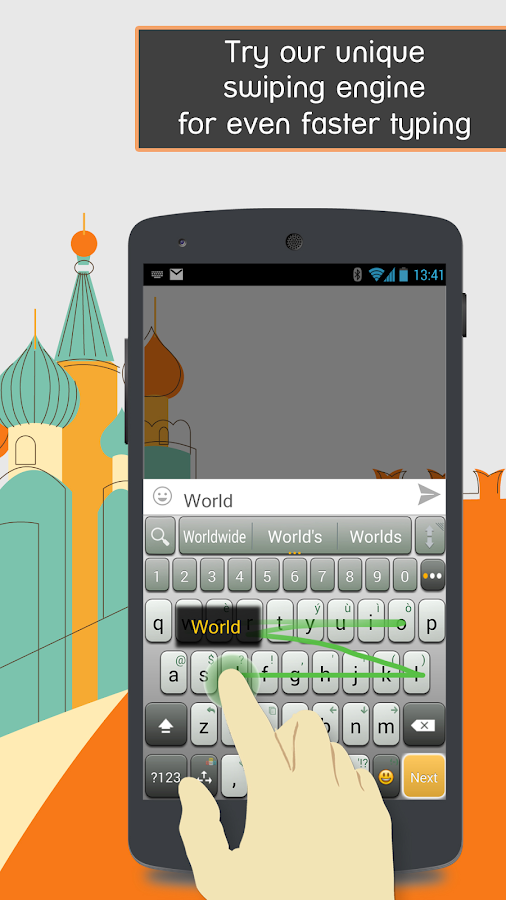 A.I.type Keyboard Free - screenshot