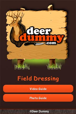 Deer Dummy - Field Dressing