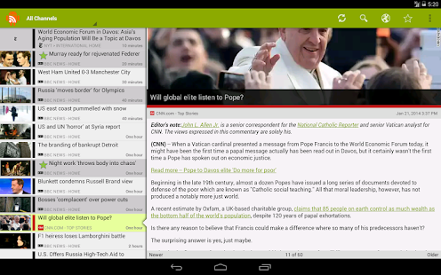 RSS Junkie (RSS Reader) - screenshot thumbnail