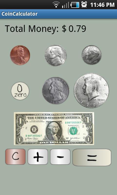 Coin Calculator- screenshot