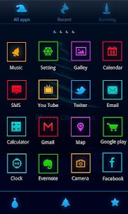 ChristmasEve GO Launcher Theme - screenshot thumbnail