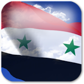 3D Syria Flag Live Wallpaper +