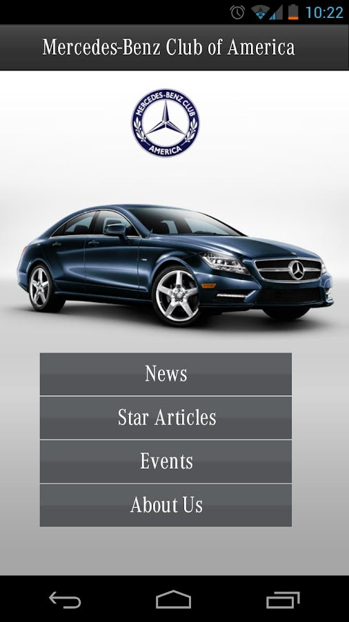 Mercedes-Benz Club of America- screenshot