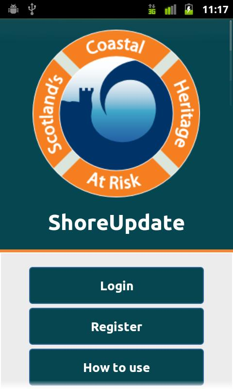 ShoreUpdate - screenshot