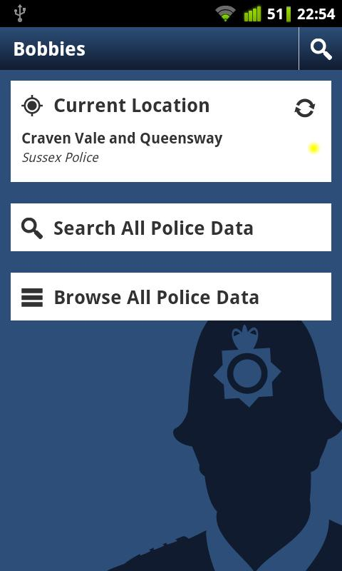 Bobbies (UK Police Crime Data) - screenshot