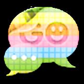 GO SMS - Rainbow 2