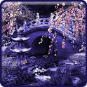 Night Eastern Garden Wallpaper icon