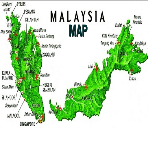 SIMPLE MALAYSIA MAP OFFLINE 2019 Android APK Download Free By Lizdin Enterprise
