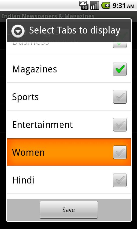 Indian Newspapers & Magazines - screenshot