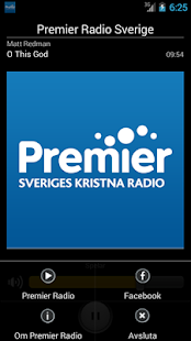 Premier Radio Sverige- screenshot thumbnail