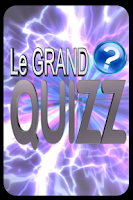 Screenshot of Le grand Quizz