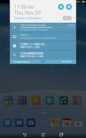 Screenshot of ASUS Miracast dongle Tool