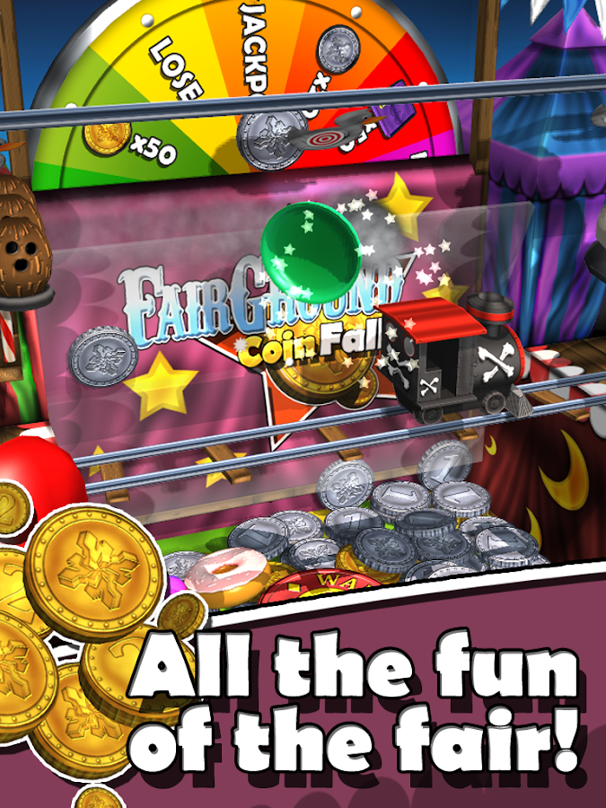 Fairground Coin Falls- screenshot