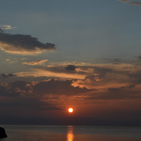 Messinian Sunset by Dimosthenis Tzavaras - Landscapes Sunsets & Sunrises (  )
