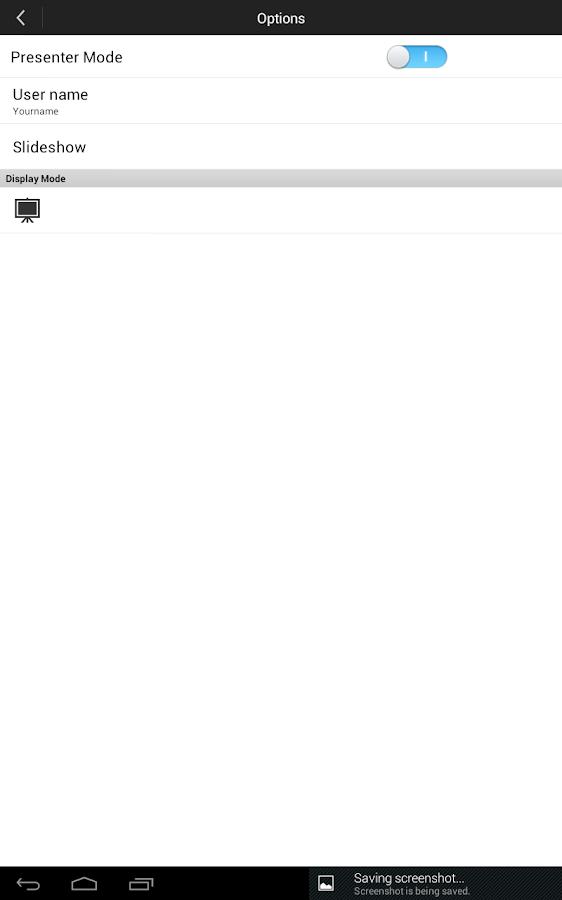 Christie QuickConnect - screenshot