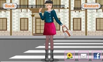 Screenshot of Dress Up & Makeup-Winter