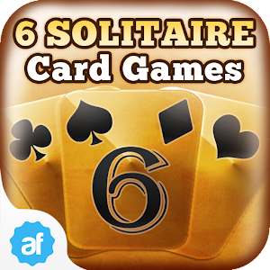 6 Solitaire Card Games Free for PC and MAC