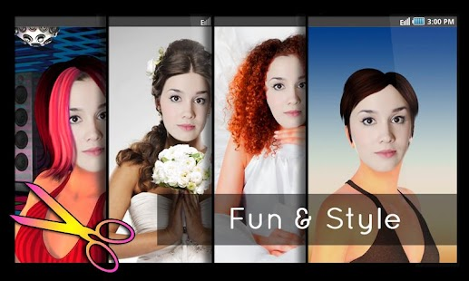 frisuren testen: friseursalon – android-apps auf google play