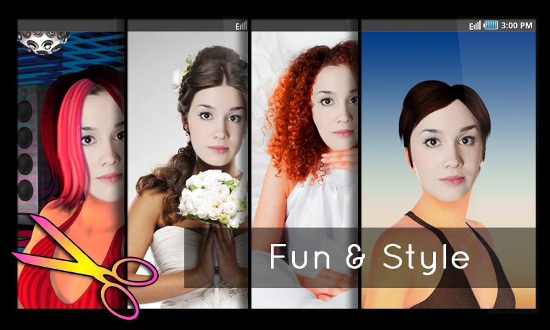 Awe Inspiring Hairstyles Fun And Fashion Android Apps On Google Play Short Hairstyles Gunalazisus
