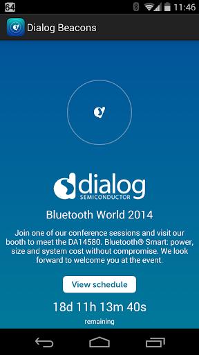 Dialog at Bluetooth World