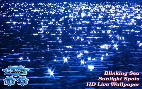 Blinking Sea Sunlight Spots 3D - náhled