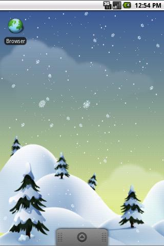 Winter Snow PRO Live Wallpaper- screenshot
