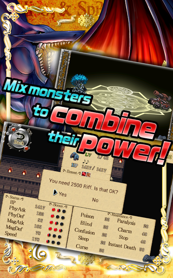 RPG Band of Monsters- screenshot
