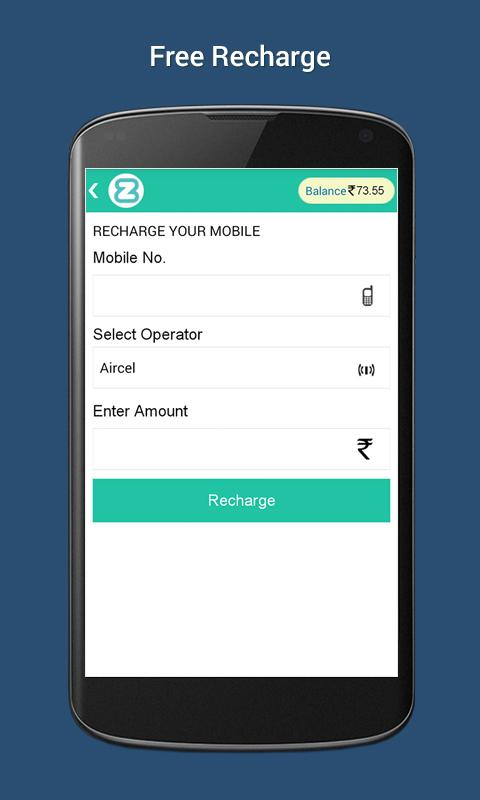 Free Mobile Recharge ZipTT- screenshot