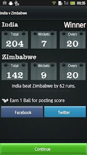 Hit Wicket Cricket World Cup - screenshot thumbnail
