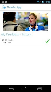 KLM Feedback- screenshot thumbnail