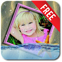 Photo In Water Live Wallpaper icon