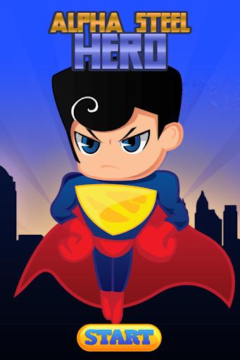 Alpha Steel Hero Man Of Super