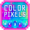GO Keyboard Color Pixels Theme icon